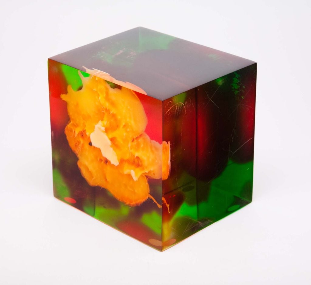 Acrylic Rainbow Sculpture by Dennis Byng In Good Condition For Sale In New York, NY