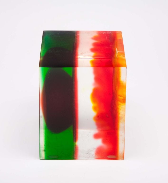 American Acrylic Rainbow Sculpture by Dennis Byng For Sale