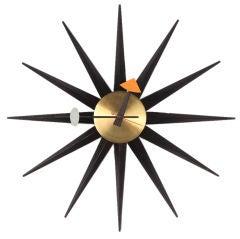 Sunburst Wall Clock by George Nelson for Howard Miller