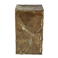 Brutal Patchwork Column Pedestal by Silas Seandel