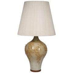 Textured Ceramic Table Lamp by Design Technics