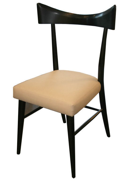 Set Of 8 Paul McCobb Armless Dining Chairs At 1stdibs