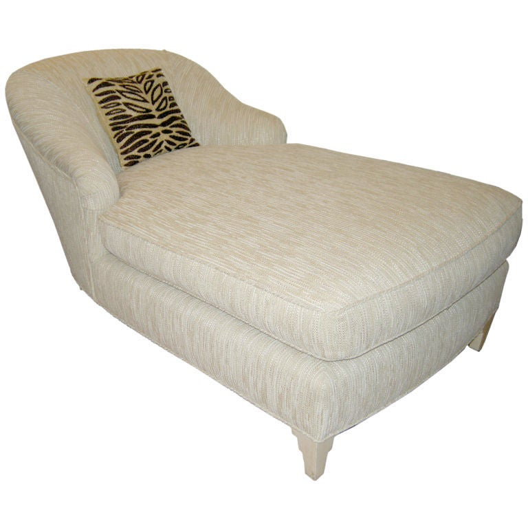 luxuriously comfortable chaise from donghia at 1stdibs. Black Bedroom Furniture Sets. Home Design Ideas
