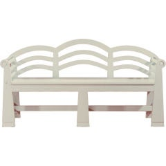 The Bellport Country Bench by Studio Craft Artist David N. Ebner.