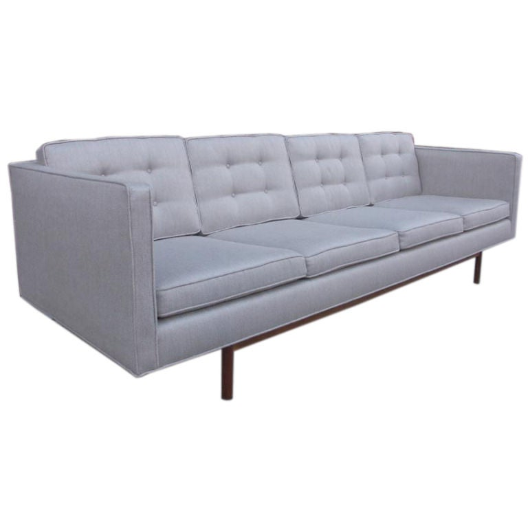 A Sophisticated Four seat Sofa by Milo Baughman at 1stdibs