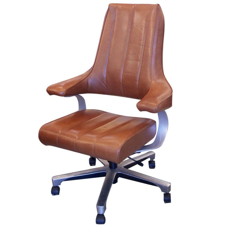 Outstanding Luxurious Executive Desk Chair By Hag At 1Stdibs Machost Co Dining Chair Design Ideas Machostcouk