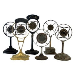 A Collection of Vintage Broadcast Microphones