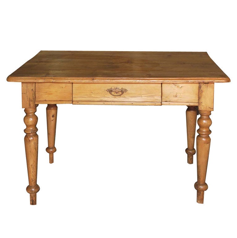 Small Continental Country Table Or Desk At 1stdibs