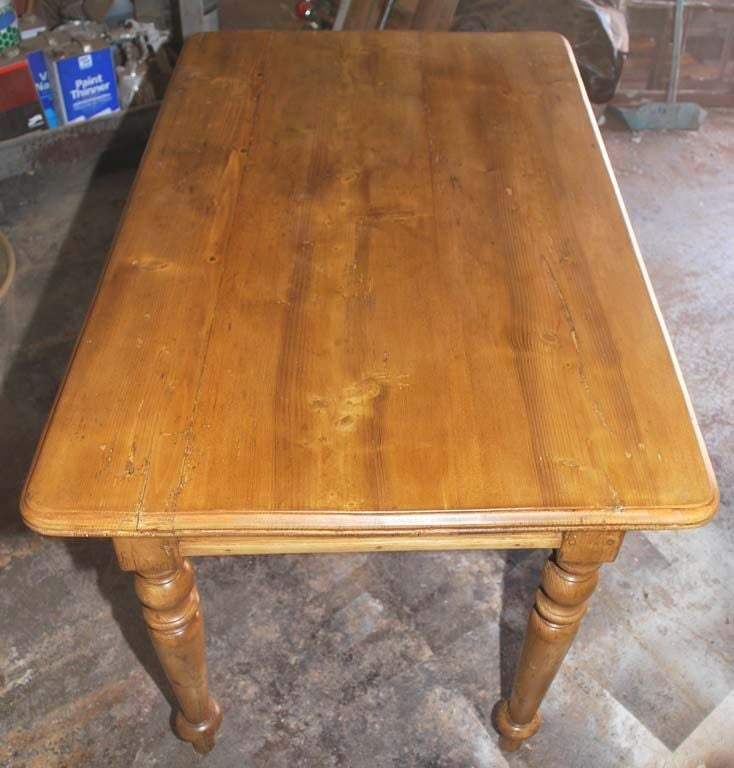 Birch Small Continental Country Table or Desk
