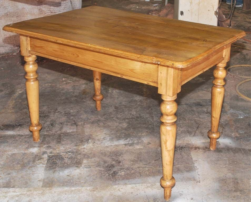 Small Continental Country Table or Desk 1