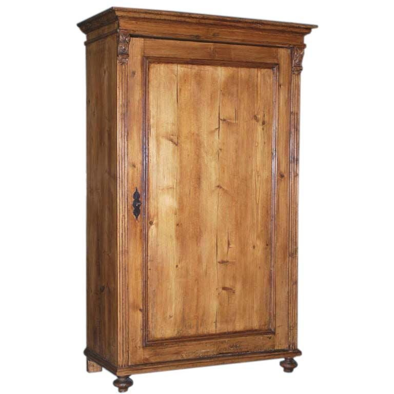 antique armoire wardrobe at 1stdibs. Black Bedroom Furniture Sets. Home Design Ideas