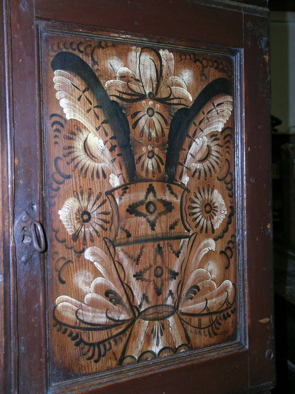 19th Century Swedish Buffet Painted, 1804 For Sale