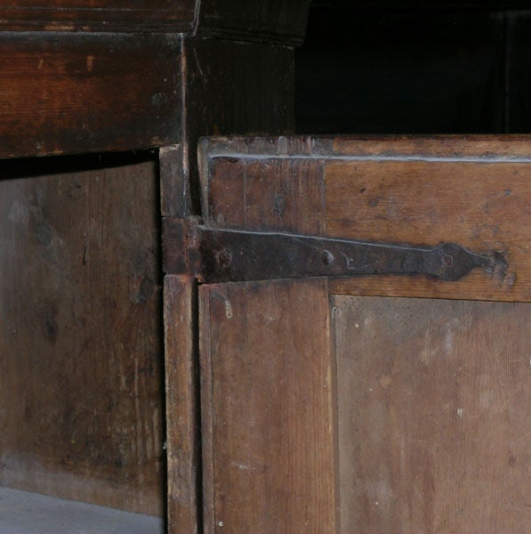 Swedish Buffet Painted, 1804 For Sale 2