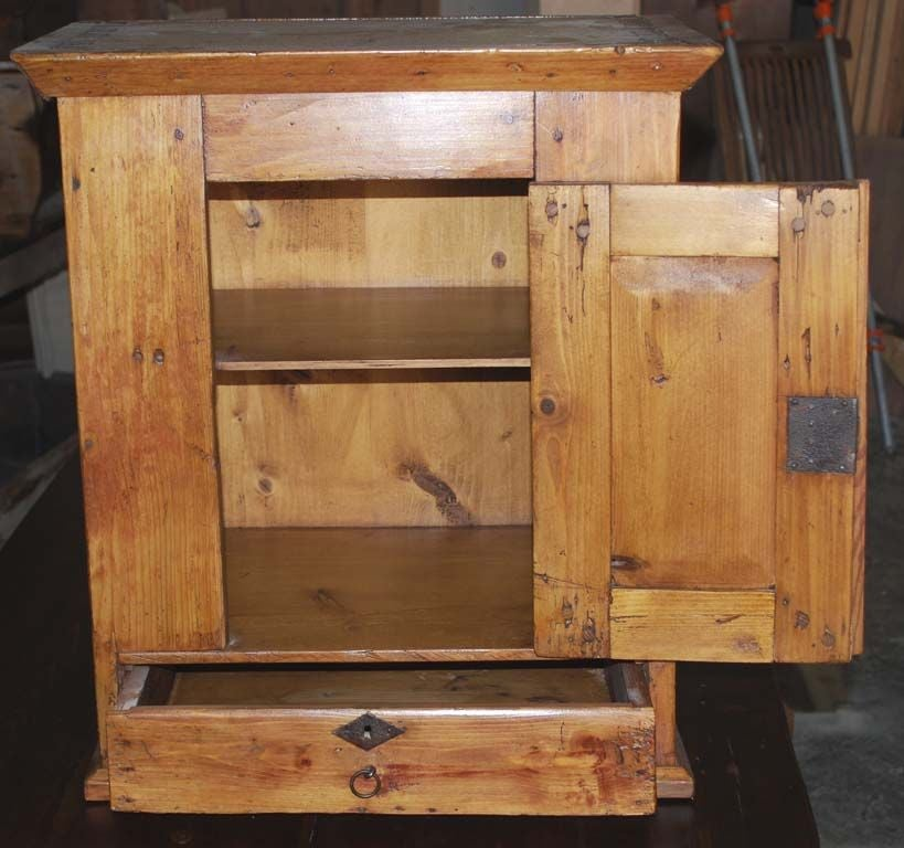 Wall hanging cabinet with drawer for sale at 1stdibs for Kitchen drawers for sale