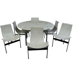 DINNING SET BY KATAVOLOS FOR LEVERNE