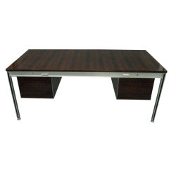 Executive Desk designed by C. Gaillard & H. Lesetre for T.F.M, 1965 France