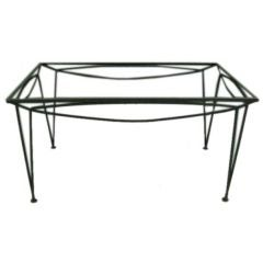 Outdoor Dining Table by Salterini   American Circa 1950