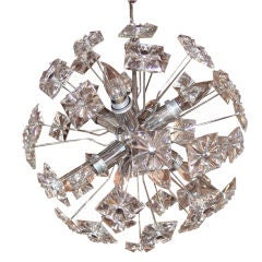 Italian Glass Sputnik  Chandelier