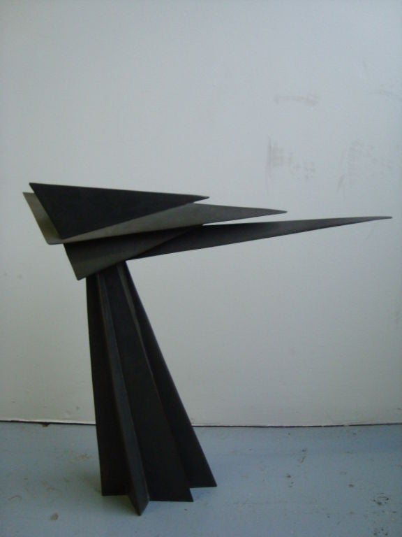 Cubist Bronze Sculpture 2