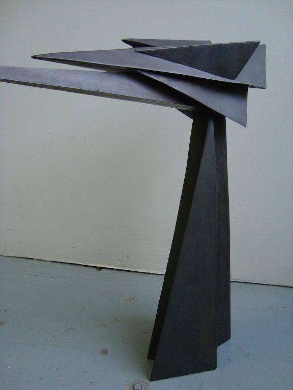 Cubist Bronze Sculpture 4