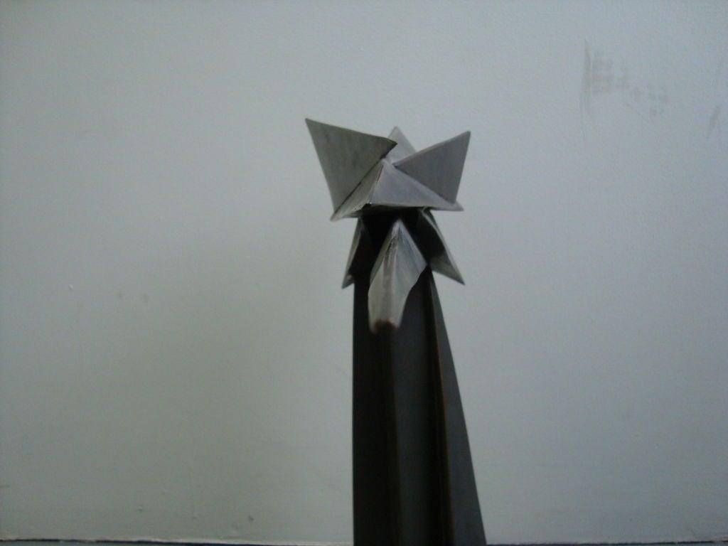 Cubist Bronze Sculpture 5
