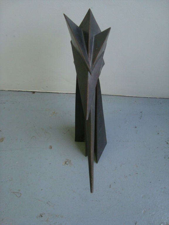 Cubist Bronze Sculpture 6