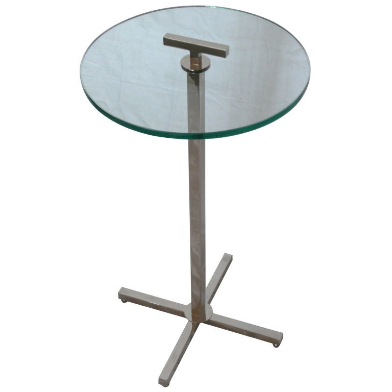 Atelier Nickel Cocktail Table For Sale At 1stdibs