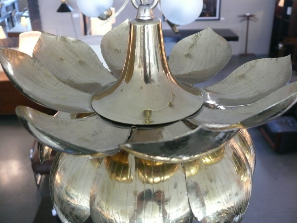 Brass Lotus Lights For Sale 2