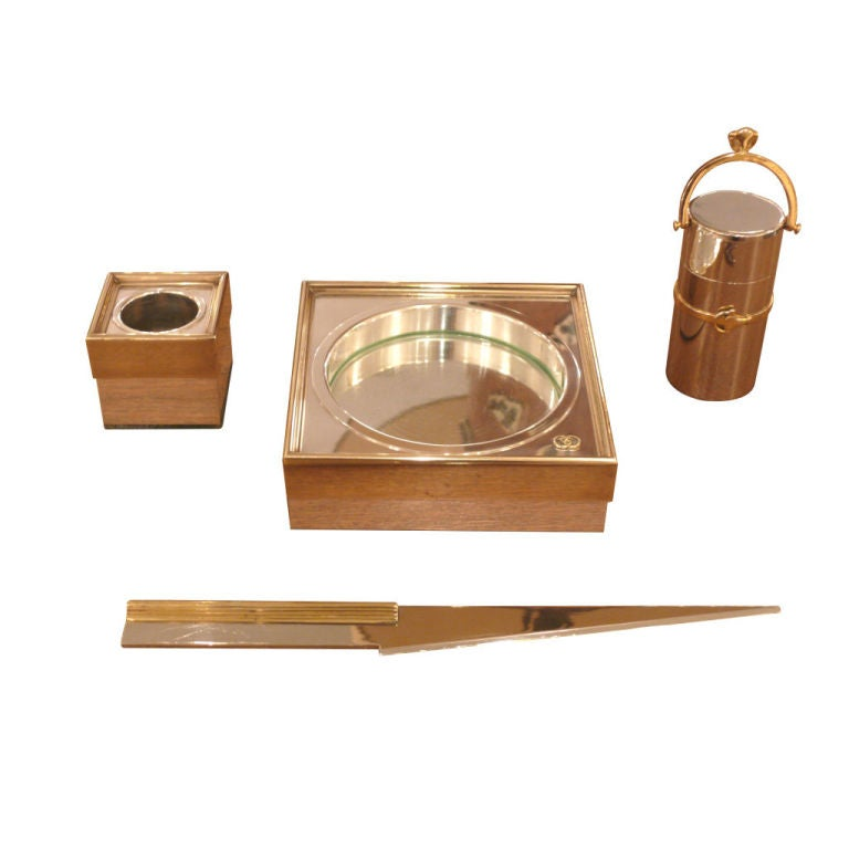 Vintage Gucci Desk Set at 1stdibs
