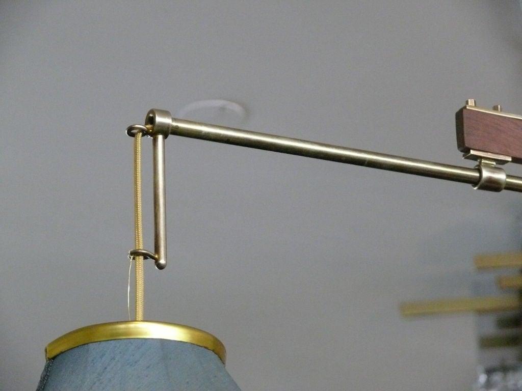 20th Century Italian Counter Balance Arm Sconce