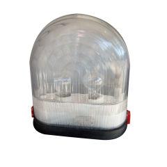 Rare Boccato Gigante plastic dome table lamp by Zambusi