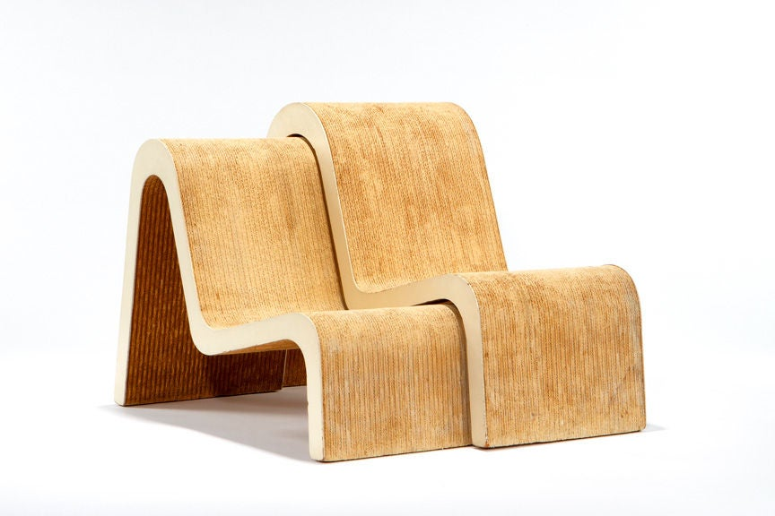 Rare PrototypeEasy Edges Chairs By Frank Gehry At Stdibs - Frank gehry furniture