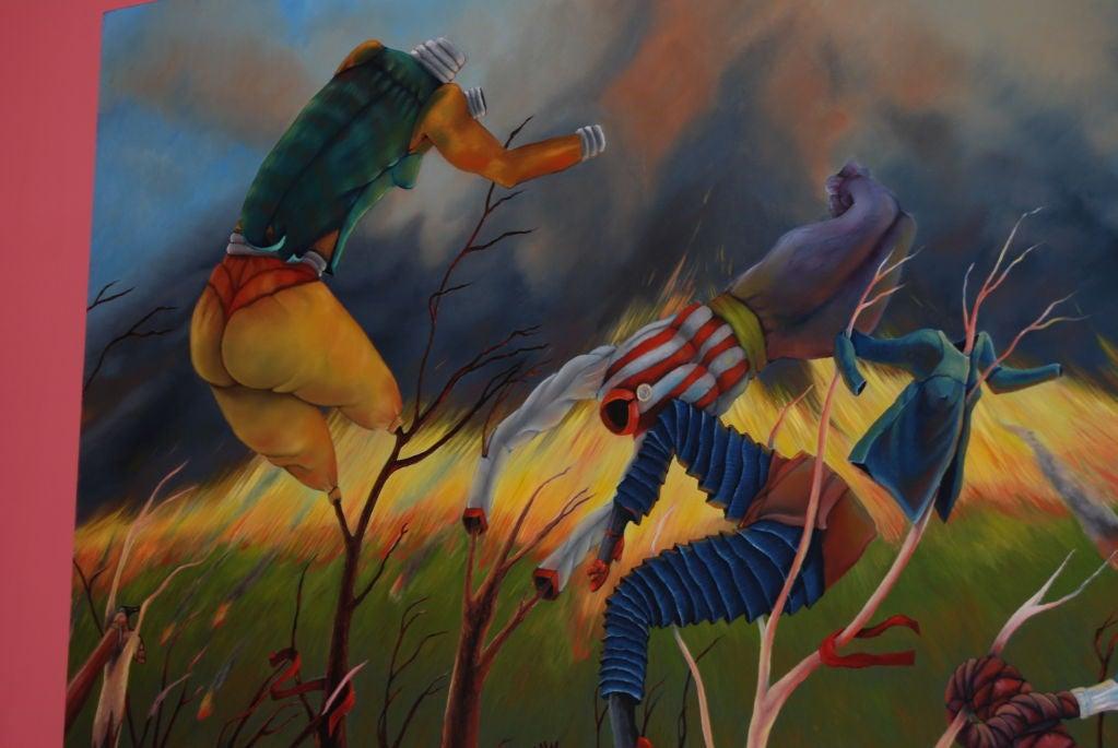 Eleanor Speiss-Ferris Oil on Canvas 4
