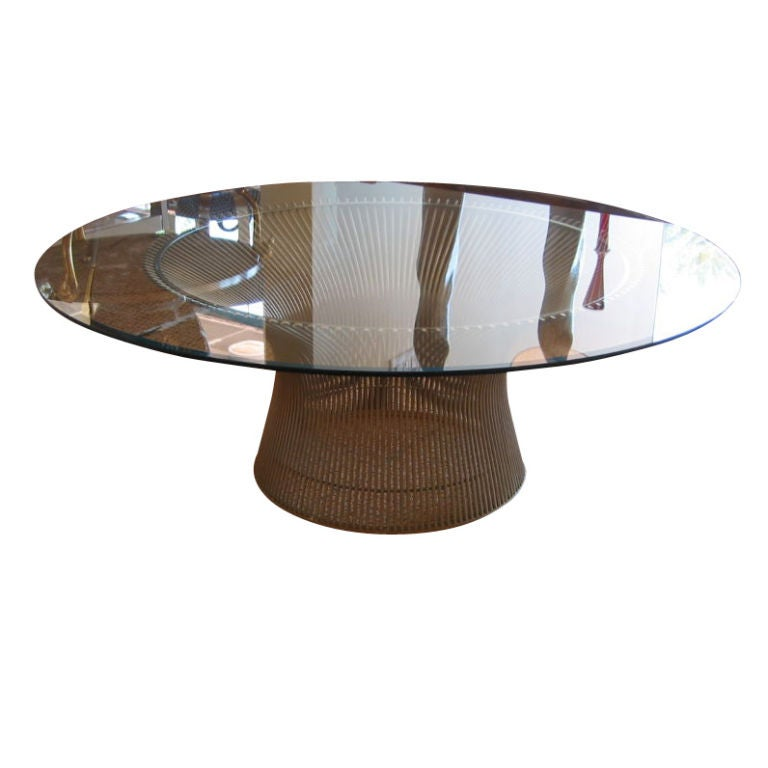early warren platner for knoll classic coffee table at 1stdibs