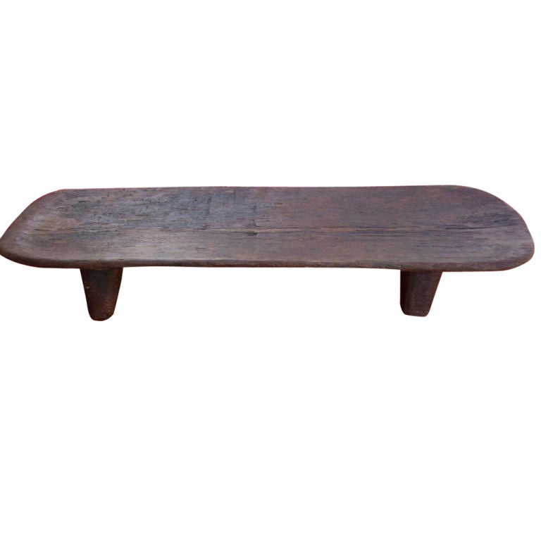A Long Primitive Bed/Low Table At 1stdibs