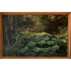 Forest Scene by Viggo Langer
