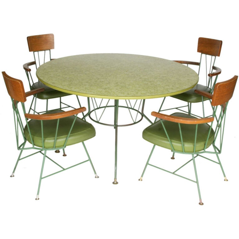 Paul McCobb Style Dining Suite For Sale