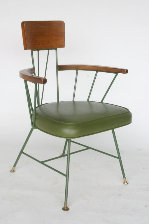 Laminated Paul McCobb Style Dining Suite For Sale