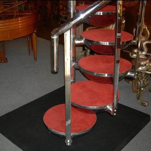 Mid Century Modern Spiral Staircase At 1stdibs