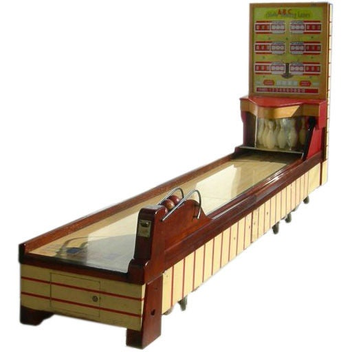 Bally ABC Bowling Lanes Arcade Game For Sale