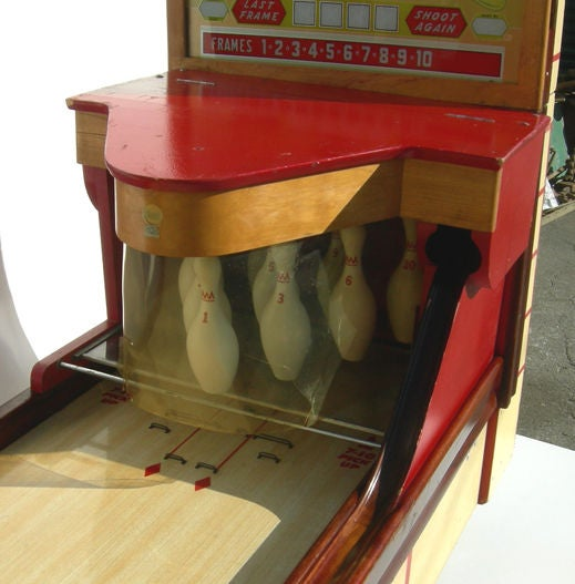 Bally ABC Bowling Lanes Arcade Game For Sale 1