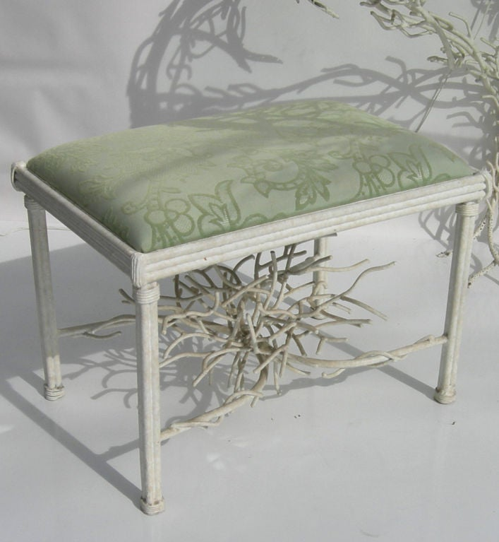 The Ultimate Iron Faux Twig Console Or Vanity Suite By