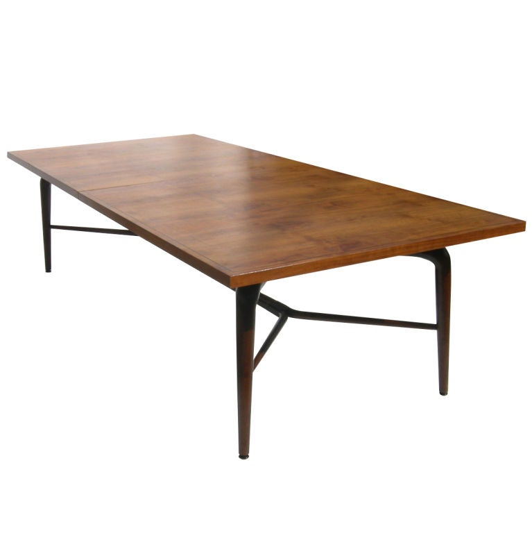 expanding conference or dining table by monteverde young at 1stdibs