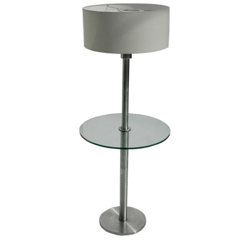 Standing Lamp Table By Walter Von Nessen At 1stdibs