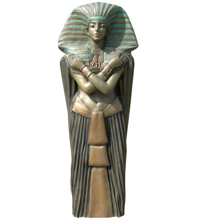 egyptian themed hollywood studio prop at 1stdibs