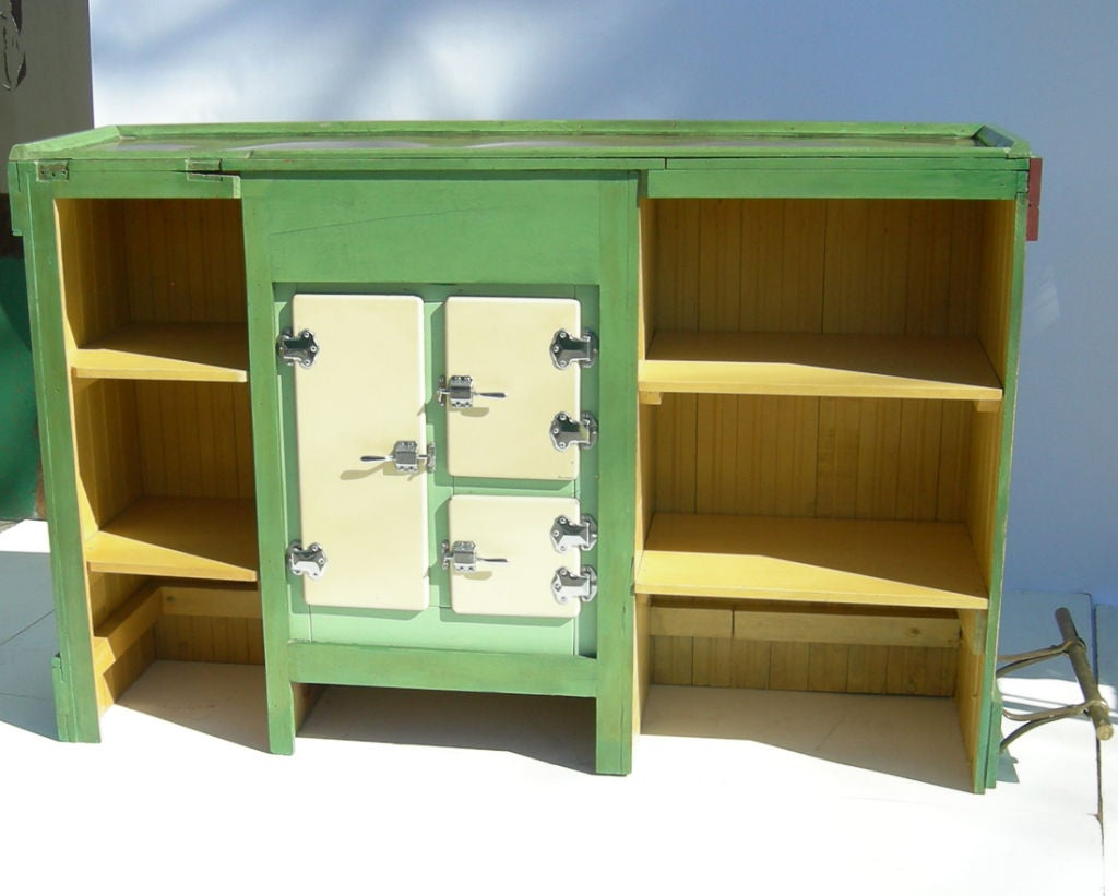 Mexicana Themed Free Standing Painted Bar For Sale At 1stdibs