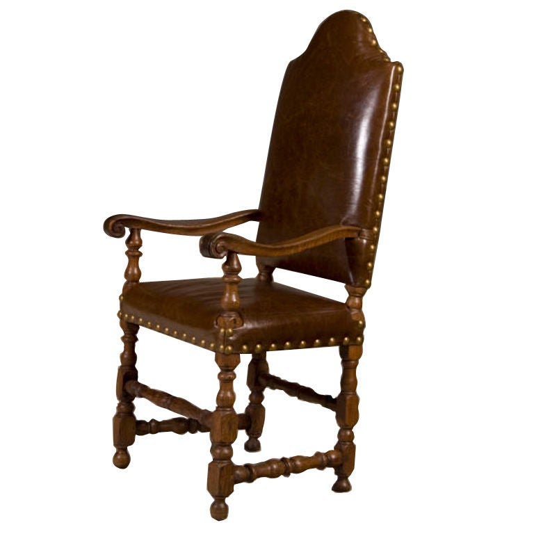 Spanish baroque armchair at 1stdibs for Plastic baroque furniture