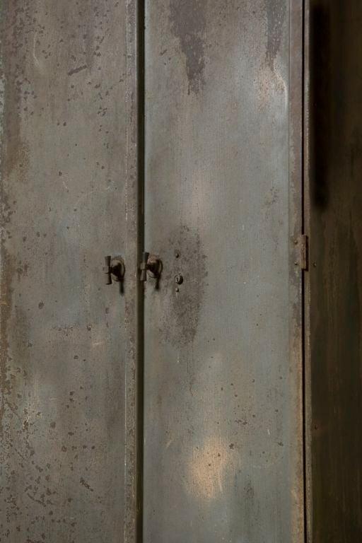 Industrial Belgium Two Door Cabinet 1