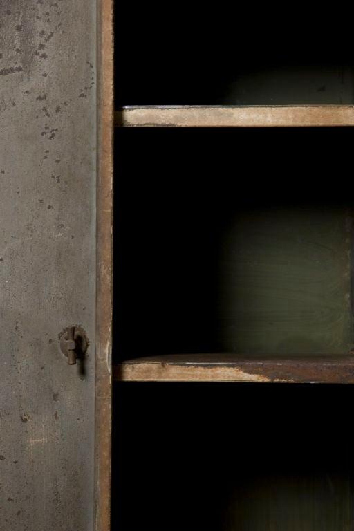 Industrial Belgium Two Door Cabinet 3
