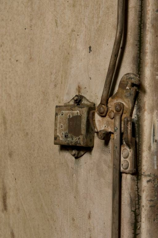 Industrial Belgium Two Door Cabinet 4